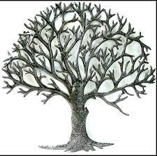 metal tree wall art uk