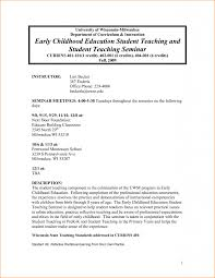 Cover Letter Examples Early Childhood Educators Tomyumtumweb Com