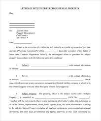 Real Estate Letter Of Intent Magdalene Project Org