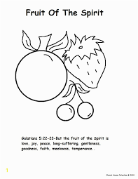 Fruit Of The Spirit Goodness Coloring Page Free Fruit Of The Spirit