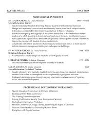 Elementary Teaching Resume Template Archives 1080 Player