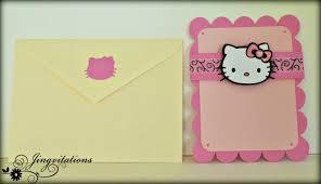 jingvitations hello kitty card birthday invitations hello kitty birthday invitations