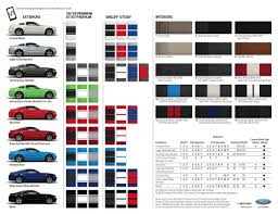 Paint Colors For 2014 Mustang