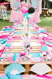 anese garden picnic party