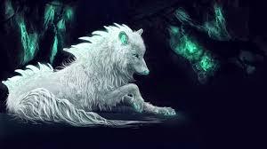 3840x2160 White Wolf Fantasy Life 4K ...