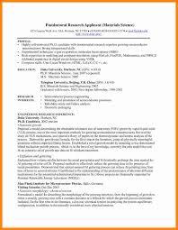 6 Scientific Curriculum Vitae Examples Bolttor Que Chart