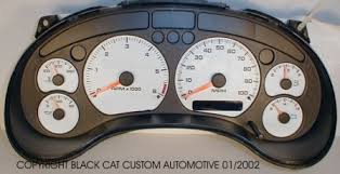 black cat custom automotive chevy s10 xtreme blazer gauge 98 05 s10 xtreme s15 jimmy blazer sonoma 100mph v6