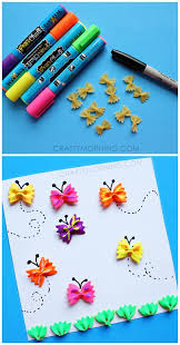 art and craft ideas for toddlers pinterest. bow-tie noodle butterfly craft for kids art and ideas toddlers pinterest