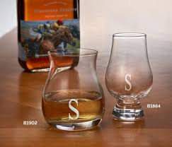 personalized whiskey glass 2 pack