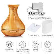 kbaybo 400ml aroma essential oil diffuser