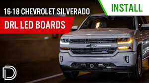 2002 Chevy Silverado Daytime Running Lights Not Working Now Available 2016 2018 Chevrolet Silverado Drl Led Boards