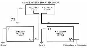 amazon com smart dual battery 140a isolator (vsr voltage Battery Isolator Relay Wiring Diagram amazon com smart dual battery 140a isolator (vsr voltage sensitive relay) for auto boat rv automotive rv battery isolator relay wiring diagram