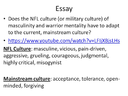 "sports culture ""man up "" ""man up"" predict the argument this  24 essay"