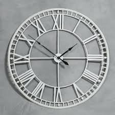 very large wall clocks large skeleton wall clocks extra large wall clocks north star large silver