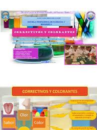 Correctivos Y Colorantes 1