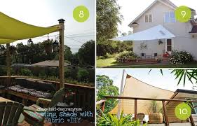 roundup 10 diy backyard shade projects and ideas