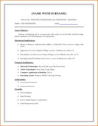 Free Basic Resume Templates Microsoft Word Papatont Com