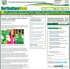 Small Picture Media coverage for Jo Thompson Garden and Landscape Design