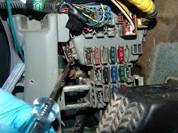 how to fix p1167 in a 2001 honda accord, with a f23a4 engine 2001 honda accord radio fuse location at 2001 Honda Accord Fuse Box Location