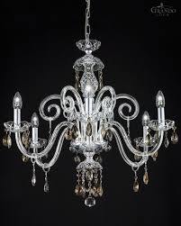 high quality transpa classic crystal chandelier combined with chrome metal finish and crystal ts