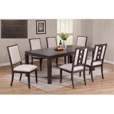 contemporary dining room furniture. Gray 7 Piece Contemporary Dining Set - Hartford | RC Willey Furniture Store Room