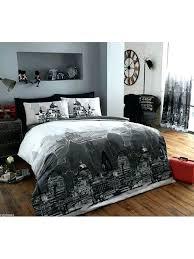 city scene bedding sets