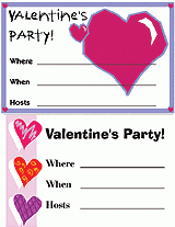 Valentines Invitations Free Printable Valentines Day Party Invitations Familyeducation