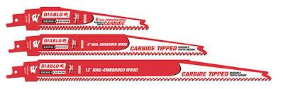 carbide sawzall blades. diablo carbide-tipped recip blades carbide sawzall a