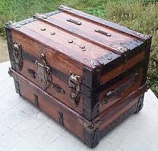 antique steamer trunk 326 after