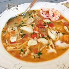 Marvelous Sopa De Pescado Fácil