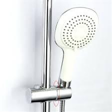 shower head riser 5 of 7 adjule hand chrome shower head holder riser rail slider bar
