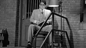 differences of harper lee s mockingbird watchman cnn atticus finch sits outside the jailhouse to protect tom robinson