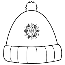 Small Picture Winter hat coloring page timeless miraclecom