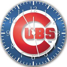 chicago cubs wall clock 10 will be