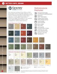 Mitten Siding Color Chart Mitten Vinyl Siding Colors Bahangit Co