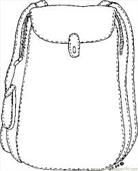 Small Picture Backpack Coloring Page Free School Coloring Pages