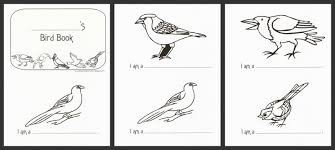 Small Picture Printable Birds Book Coloring Coloring Pages