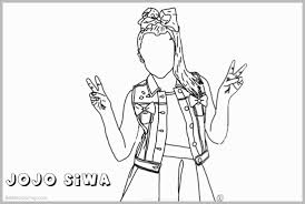 Jojo Siwa Coloring Pages Awesome Jojo Siwa Coloring Pages Color Line