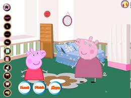 Peppa Pig Bedroom Decor Peppa Pig Room Decor Game Play Youtube