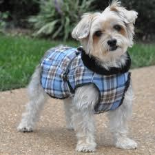 alpine flannel dog coat