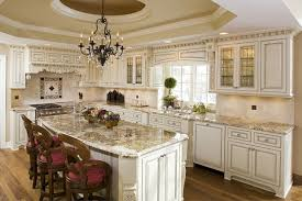 Cream Kitchen Cabinets With Chocolate Glaze Kitchen White Paint