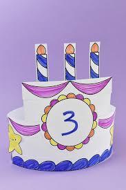 Printable Birthday Cake Crown Handmade Charlotte