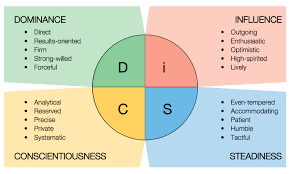 Personality Profile Chart 43 Factual Disc Assessment Chart