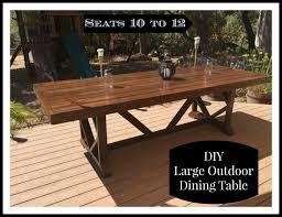 outdoor dining table diy and photos madlonsbigbear com