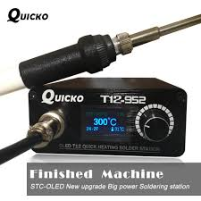 Quick Heating <b>T12 soldering station electronic</b> welding iron 2019 ...