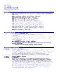 Copy Of Resume Template Sample Resume Cover Letter Format