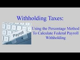 Employee Payroll Deductions Calculator Withholding Taxes How To Calculate Payroll Withholding Tax
