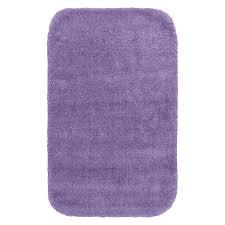 garland rug traditional 40 in x 24 in purple nylon bath rug