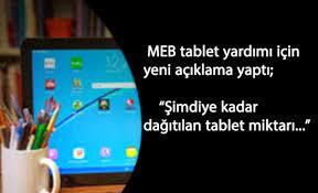 Okullarda tablet yardımı son durum: Bakan Selçuk'tan açıklamalar