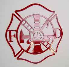 maltese cross firefighter metal wall art on maltese cross firefighter metal wall art with maltese cross firefighter metal wall art back40metalworx on artfire